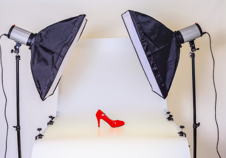 Infinity Sheet is used as a product table for product photography